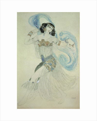 Costume design for Salome in 'Dance of the Seven Veils' by Leon Bakst