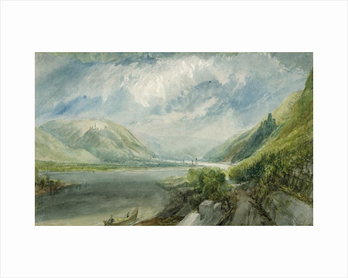 Junction of the Lahn by Joseph Mallord William Turner