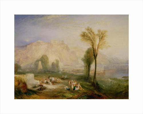 The Bright Stone of Honour (Ehrenbreitstein) and the Tomb of Marceau by Joseph Mallord William Turner
