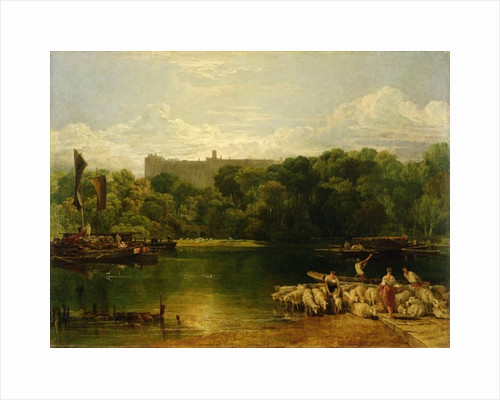 Windsor Castle from the Thames by Joseph Mallord William Turner