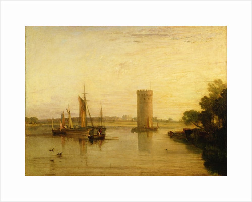 Tabley, the Seat of Sir J.F. Leicester, Bart.: Calm Morning by Joseph Mallord William Turner