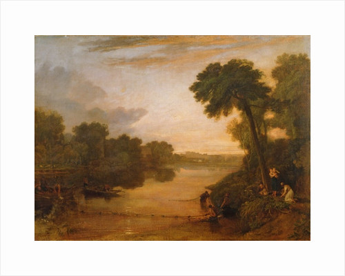Across the Moat, Bedfield by Joseph Mallord William Turner