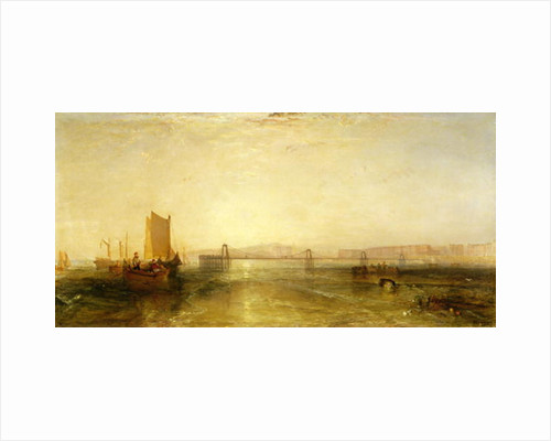 Brighton from the Sea by Joseph Mallord William Turner