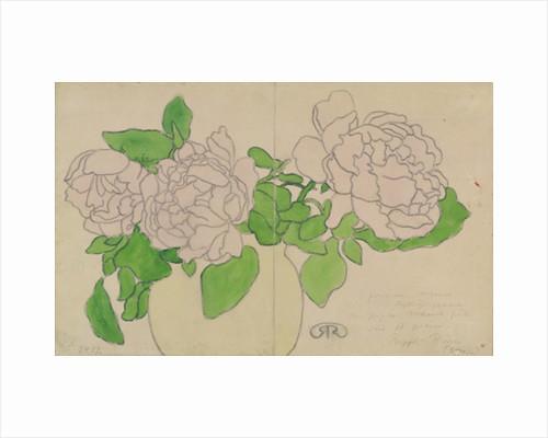 Chrysanthemums by Jozsef Rippl-Ronai