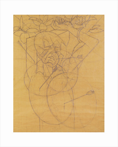 Kubista: Cupid striking by Anonymous