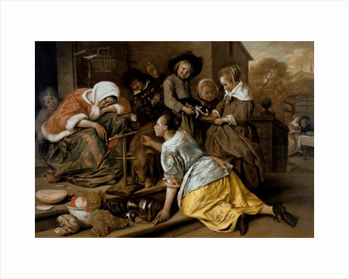 The Effects of Intemperance by Jan Havicksz. Steen