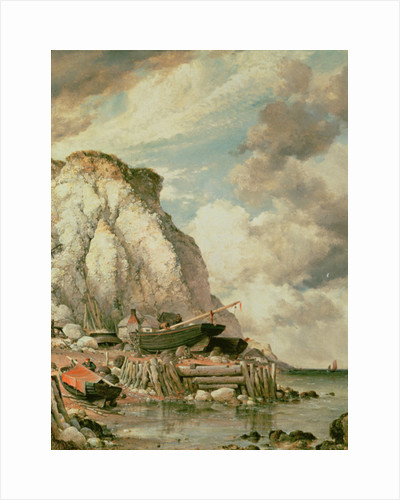 A Bit of Bonchurch in the Olden Times by Edward William Cooke