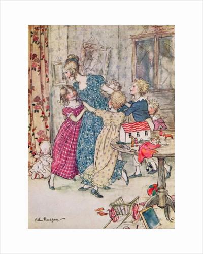 A flushed and boisterous group by Arthur Rackham