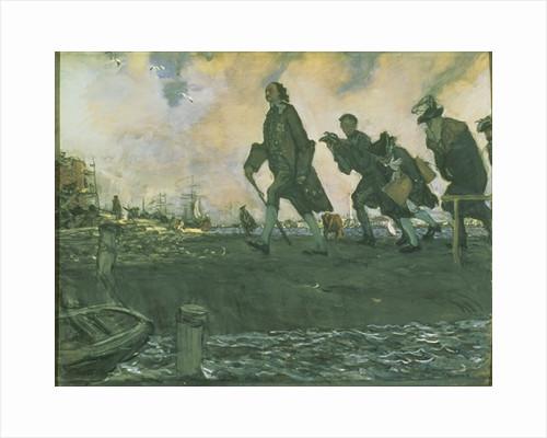 Dying Goethe by Valentin Aleksandrovich Serov