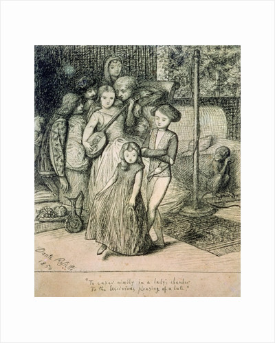 To Caper Nimbly in a Lady's Chamber to the Lascivious Pleasing of a Lute by Dante Gabriel Charles Rossetti