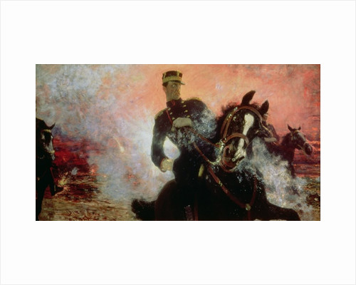 Albert I King of the Belgians in the First World War by Ilya Efimovich Repin