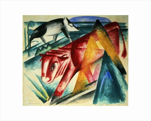 Animals by Franz Marc
