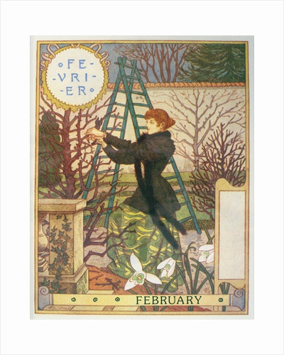 February by Eugene Grasset