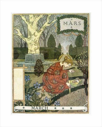 March by Eugene Grasset