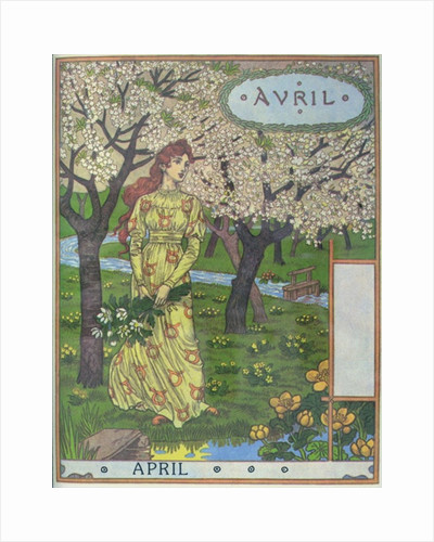 April by Eugene Grasset
