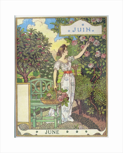 June by Eugene Grasset