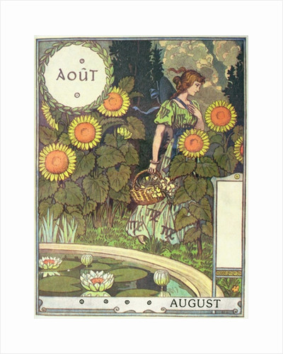 August by Eugene Grasset