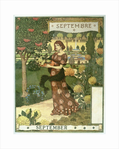 September by Eugene Grasset