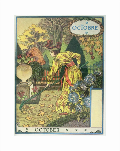 October by Eugene Grasset