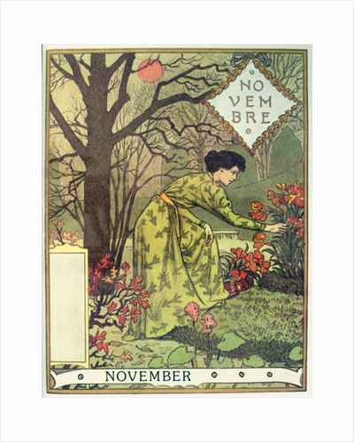 November by Eugene Grasset