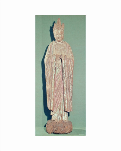 Figure of a Taoist Deity by Chinese School