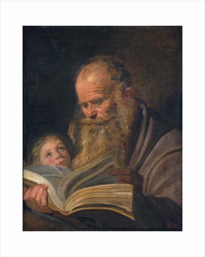 Saint Matthew by Frans Hals