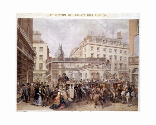 At the Bottom of Ludgate Hill by English School