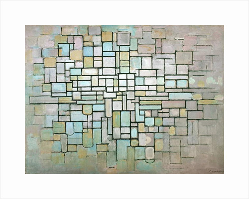 Compostion No.II, 1913 by Piet Mondrian