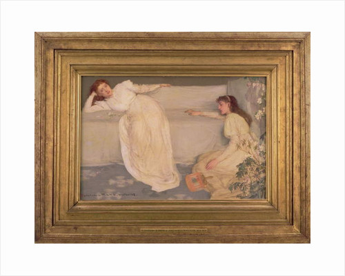 Symphony in White, No. III, 1865-67 by James Abbott McNeill Whistler