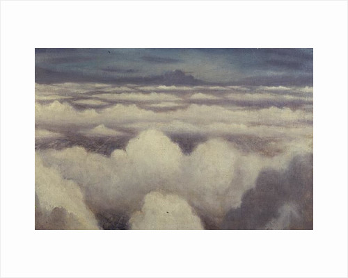 Aerial View, Probably over Flanders by Christopher Richard Wynne Nevinson