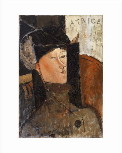 Beatrice Hastings, 1916 by Amedeo Modigliani