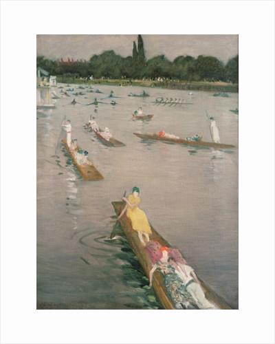 Regatta at Henley by Christopher Richard Wynne Nevinson