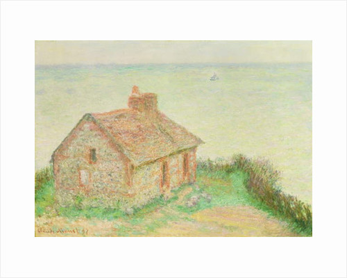 The House at Douanier, Pink Effect, 1897 by Claude Monet