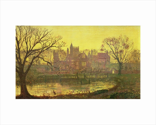 The Moated Grange by John Atkinson Grimshaw