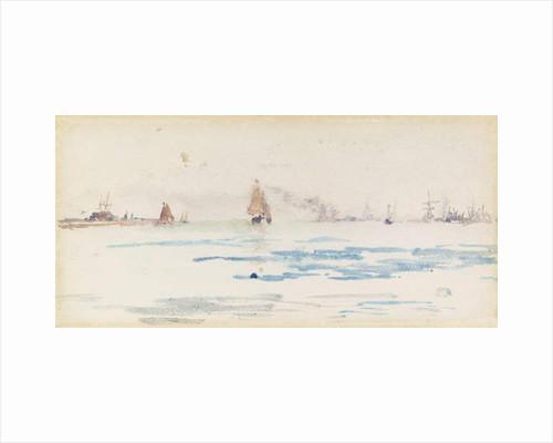 Zuyder Zee, c.1883 by James Abbott McNeill Whistler