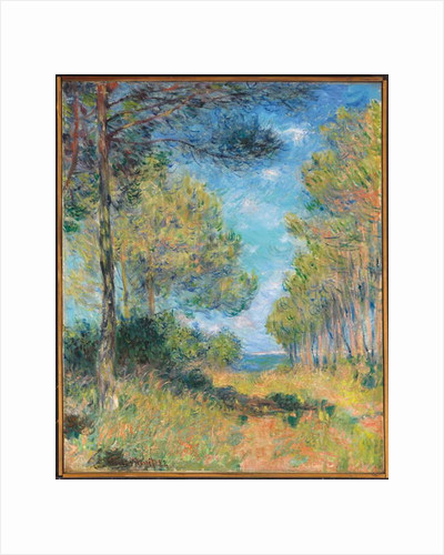 Pine Tree Path at Varengeville by Claude Monet