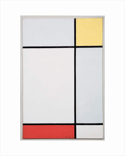 Composition with Yellow and Red, 1927 by Piet Mondrian