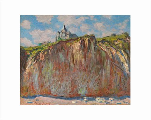 Church of Varengeville, Morning Effect by Claude Monet