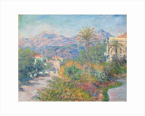 Roman Road at Bordighera by Claude Monet