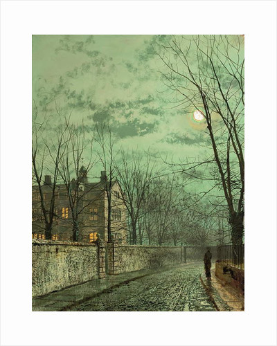 Under the Moonbeams, 1887 by John Atkinson Grimshaw