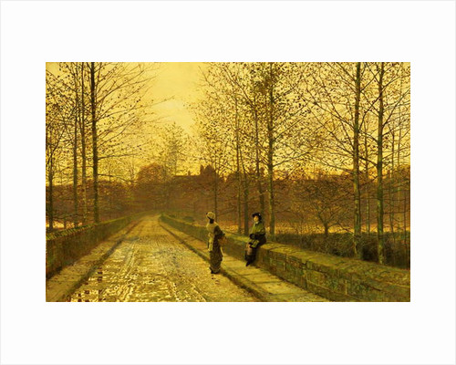 In the Golden Gloaming, 1883 by John Atkinson Grimshaw