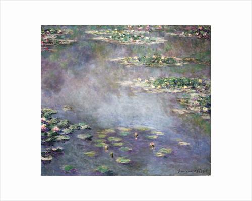 Nymphéas, 1906 by Claude Monet