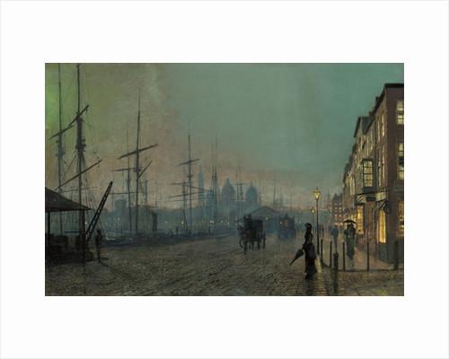 Humber Dockside, 1881 by John Atkinson Grimshaw
