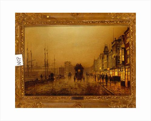 Glasgow Docks, 1892 by John Atkinson Grimshaw