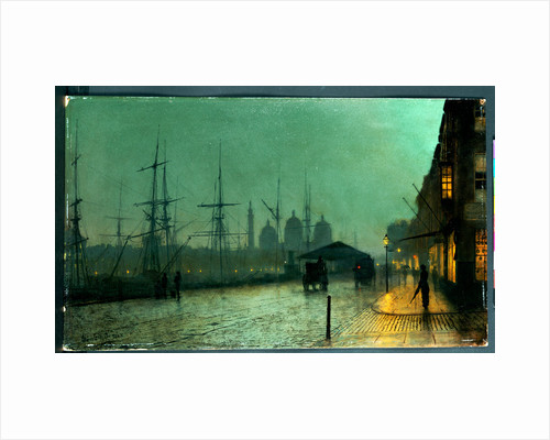 Humber Dockside, Hull, 1882 by John Atkinson Grimshaw