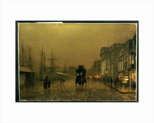 Salthouse Dock, Liverpool by John Atkinson Grimshaw