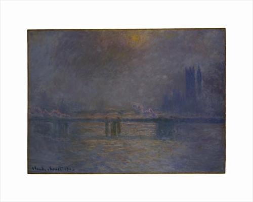 Charing Cross Bridge, The Thames, 1900-03 by Claude Monet