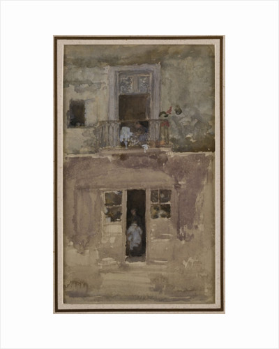 The Balcony, c.1888 by James Abbott McNeill Whistler