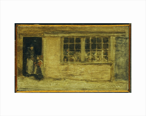 The Shop Window, c.1885-90 by James Abbott McNeill Whistler