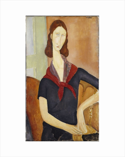 Jeanne Hebuterne 1919 by Amedeo Modigliani